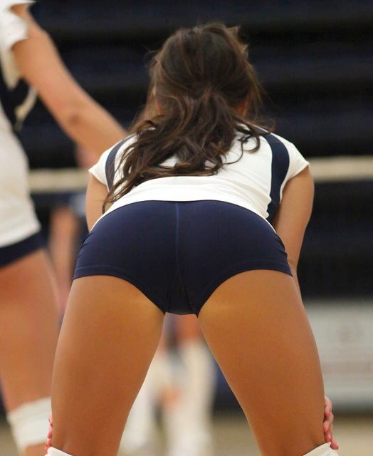 Volleyball Players To Tight Spandex See Vigina